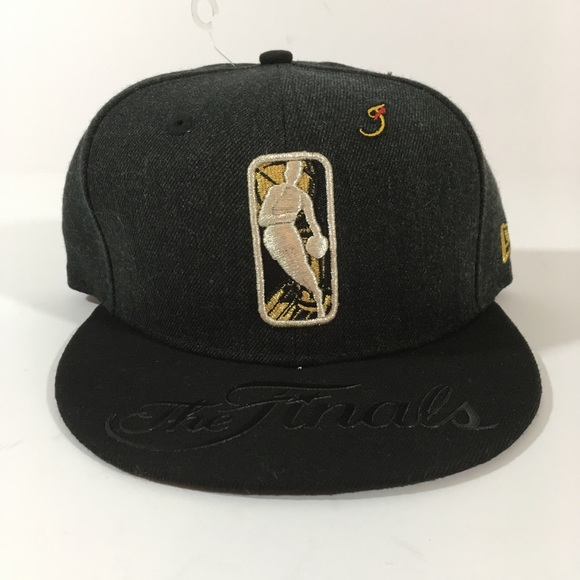 New Era 950 SnapBack Black nba finals hat 🧢 OSFA bec16e94a062